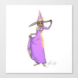 Hijab - The Hijabi Witch Canvas Print