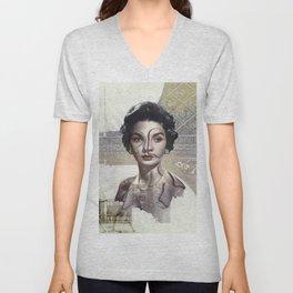 Queen of Egypt / Surrealism Unisex V-Neck