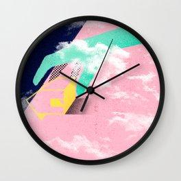 Brazil - A casa caiu Wall Clock