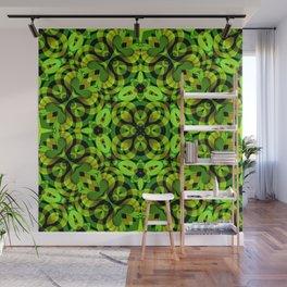 Floral Fractal Art G539 Wall Mural