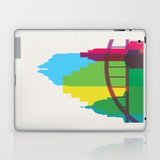 Shapes of Austin. Accurate to scale. Laptop & iPad Skin