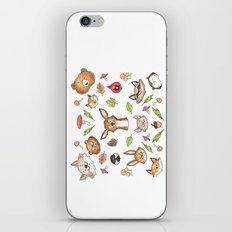 Woodland Kaleidoscope iPhone & iPod Skin