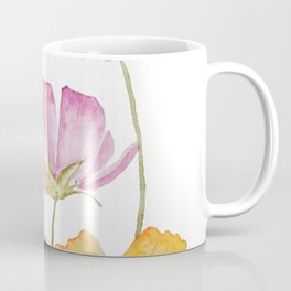 colorful cosmos flower Coffee Mug