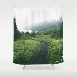 Happy Trails XIX Shower Curtain