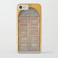 real madrid iPhone & iPod Cases featuring Madrid Door by Diego Tirigall