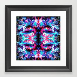 Blue Dreams (Part 1) Framed Art Print