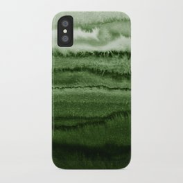 WITHIN THE TIDES FOREST GREEN by Monika Strigel iPhone Case