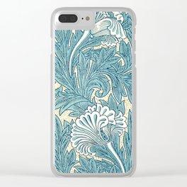 """William Morris """"Tulip"""" 3. Clear iPhone Case"""