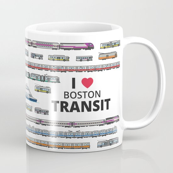 The Transit of Greater Boston Mug