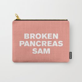 Broken Pancreas Sam (Blooming Dahlia) Carry-All Pouch