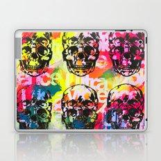Ultraviolence 4i skull - mixed media on canvas Laptop & iPad Skin
