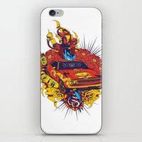 muscle iPhone & iPod Skins featuring Muscle by Tshirt-Factory