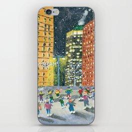 Christmas on Woodward Avenue iPhone Skin
