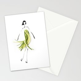 Edible Ensembles: Zuccini Stationery Cards