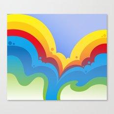 Rainbowmatic Canvas Print
