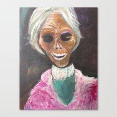 Mrs Bates  Canvas Print