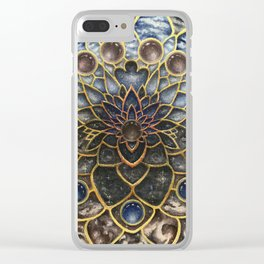A Looking Glass Into Existence Clear iPhone Case