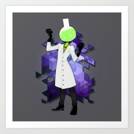 BRAINWAVES: THE SCIENCE OF MADNESS Art Print