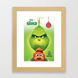 Dr. Seuss The Grinch Framed Art Print