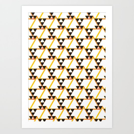Native Pattern Art Print