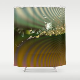 Storm of life renewal Shower Curtain