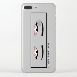 matches Clear iPhone Case