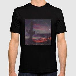 Darkness In The Desert - America As Vintage Album Art T-shirt