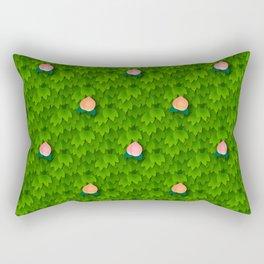 Fruit Harvest - Peach Rectangular Pillow