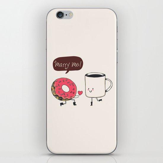 Marry Me iPhone & iPod Skin