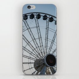 Ferris Wheel at Sunset iPhone Skin