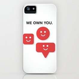 Phone Notifications iPhone Case