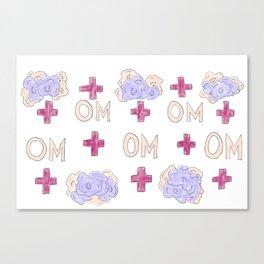OM Positive Canvas Print