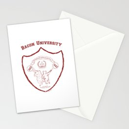 Bacon University Stationery Cards