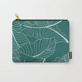 Home Palm Leaf pattern Carry-All Pouch