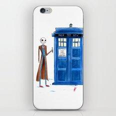Doctor Wholington, Pumpkin Time Lord King! iPhone & iPod Skin