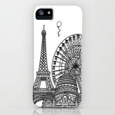 Paris Silhouettes Slim Case iPhone (5, 5s)