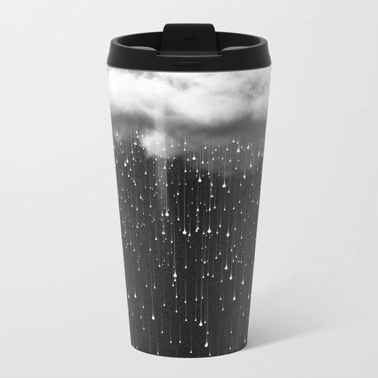 Let It Fall III Metal Travel Mug