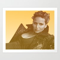 law Art Prints featuring J. LAW. by Hands in the Sky