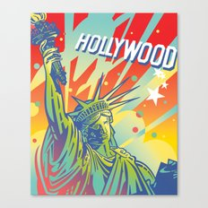 East Coast-West Coast Canvas Print
