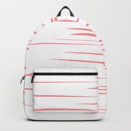 design lines, pinks Backpack