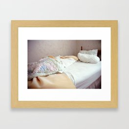 Bed I Framed Art Print