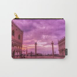Piazza San Marco and Palazzo Ducale in Venice Carry-All Pouch