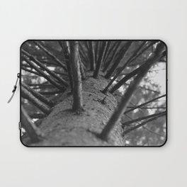 tree black and white photo Laptop Sleeve