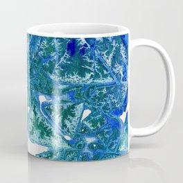 Sea Leaves, Environmental Love of the Ocean Blue Coffee Mug