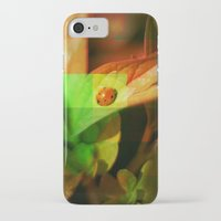 ladybug iPhone & iPod Cases featuring Ladybug  by SensualPatterns