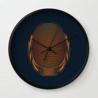 daft punk Wall Clocks featuring Daft Punk by Tuyệt Duyệt