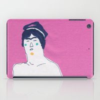 pilot iPad Cases featuring pilot by Maybe Mary
