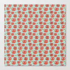 Pattern Project #32 / WTF Cats Canvas Print