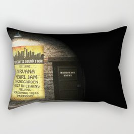 the seattle sound tour Rectangular Pillow