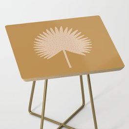 Palm Leaf Side Table